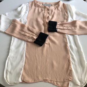 ALC Color Block Blouse